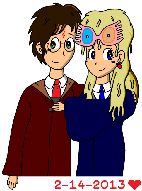 Harry and Luna - Valentine's Day 2013 by RisanF