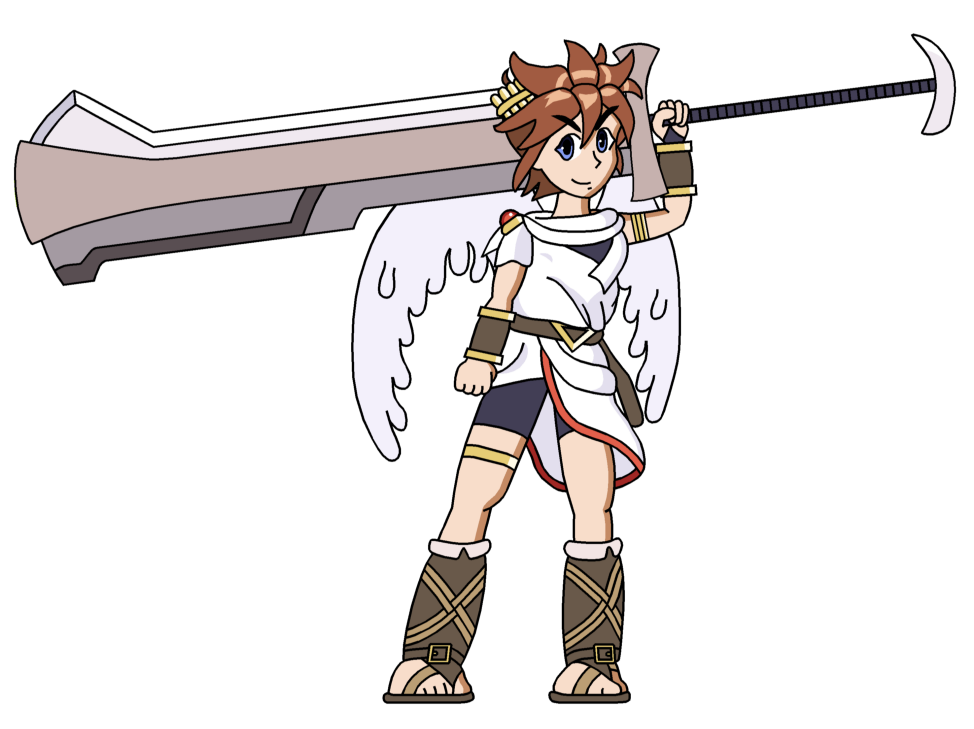 Kid Icarus - Magnus Master by RisanF