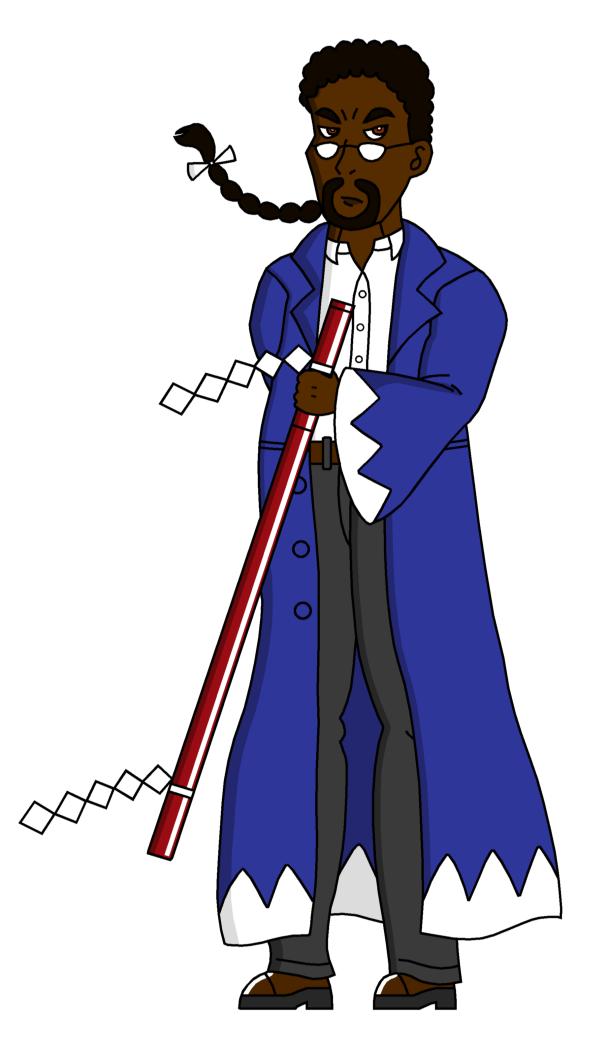 Mr. Clark - School-teacher Samurai by RisanF