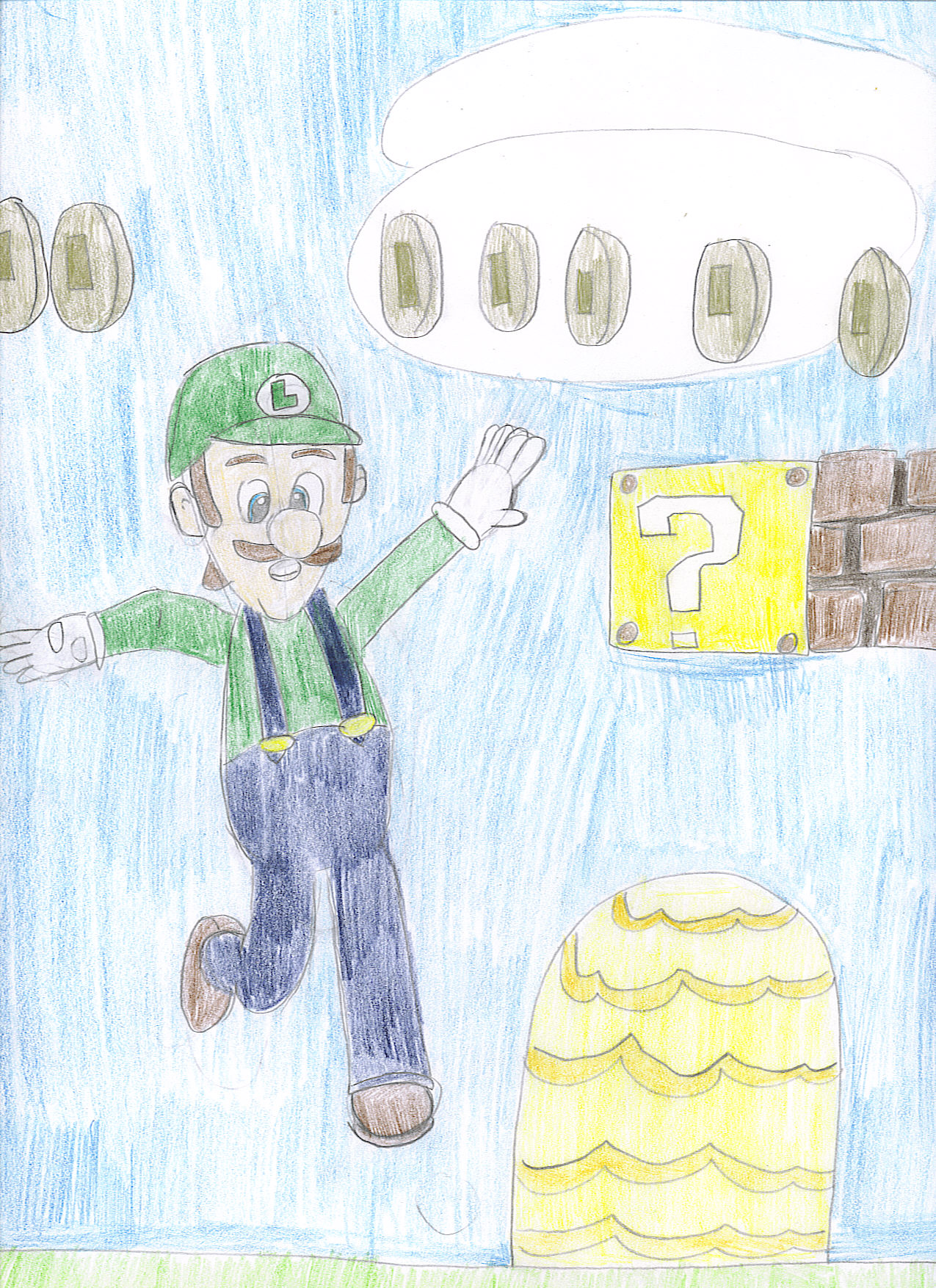 Luigi by RockLee9915