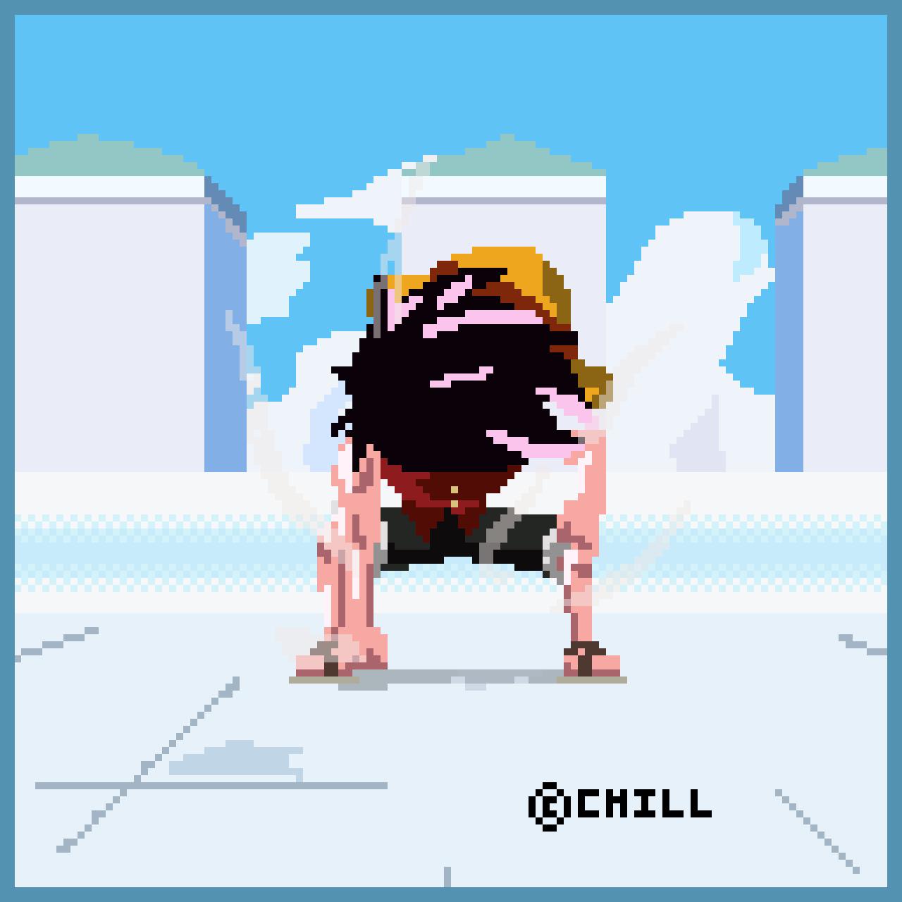 Luffy Gear Second Pixel Art by RubidiumHawk