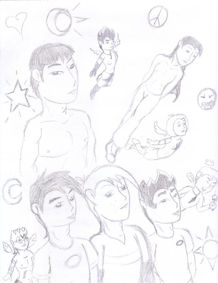 Random Pencil Drawings by Rubius