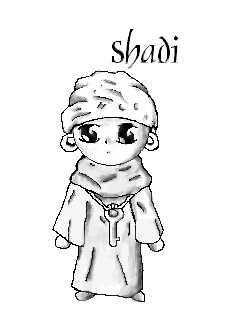 Chibi Shadi!! by RubyDeathGurl