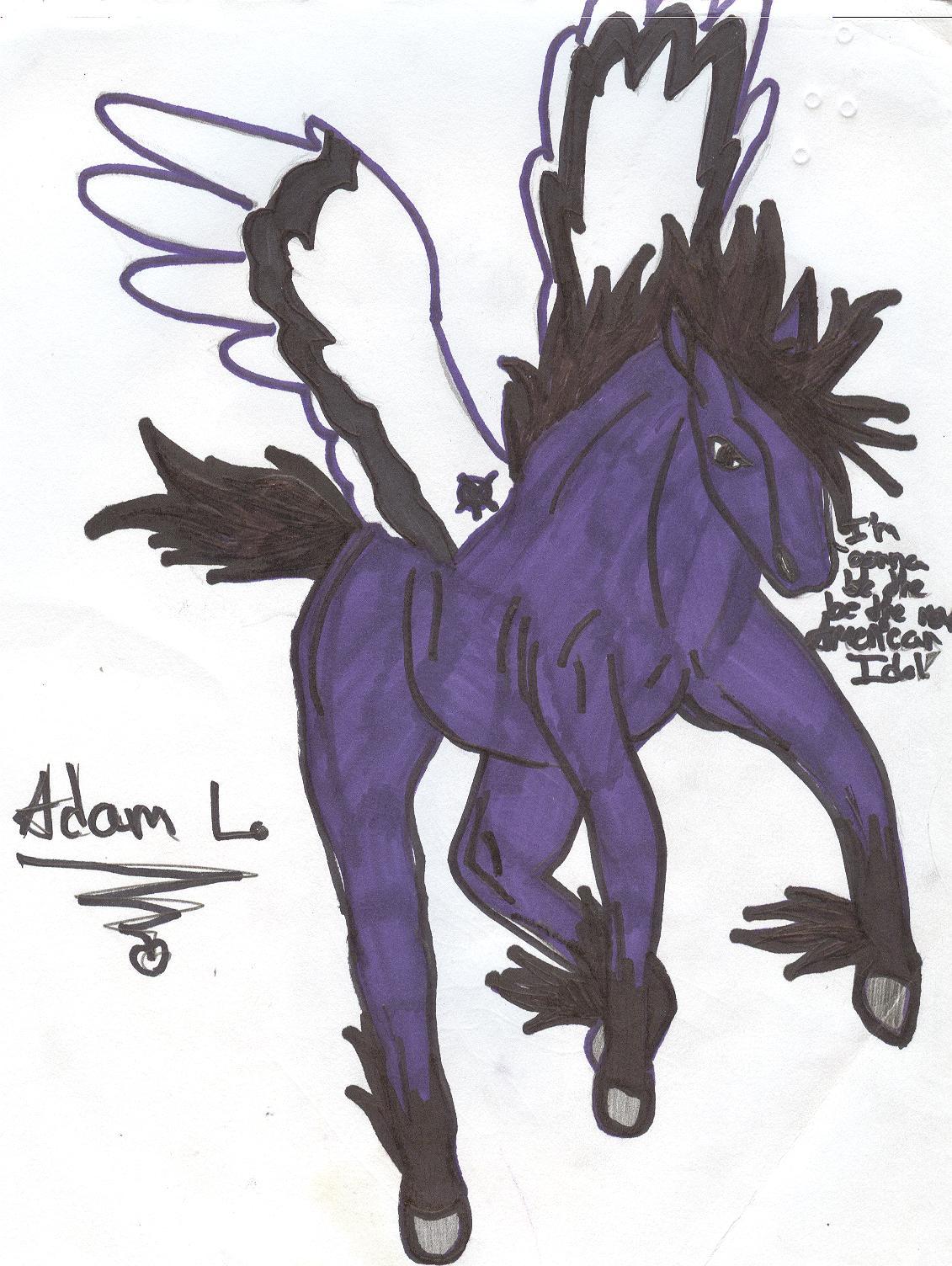 Adam Lambert Pegasi by Ruffian101