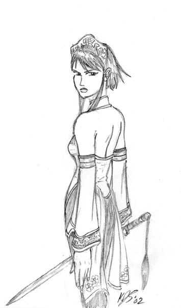 Xianghua 1P outfit -- SEXY!! by RurouniKJS