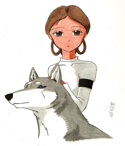 Padme and Moonshine (for Steel) by Rurouni_Gemini83