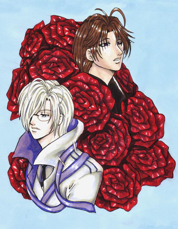 Roses by raeraesama