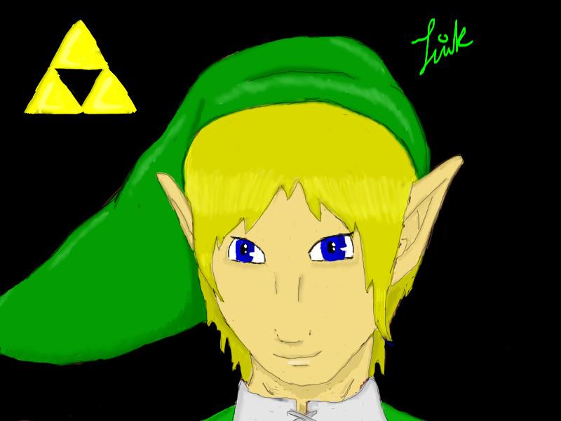 LoZ: Link by rainbowfox16