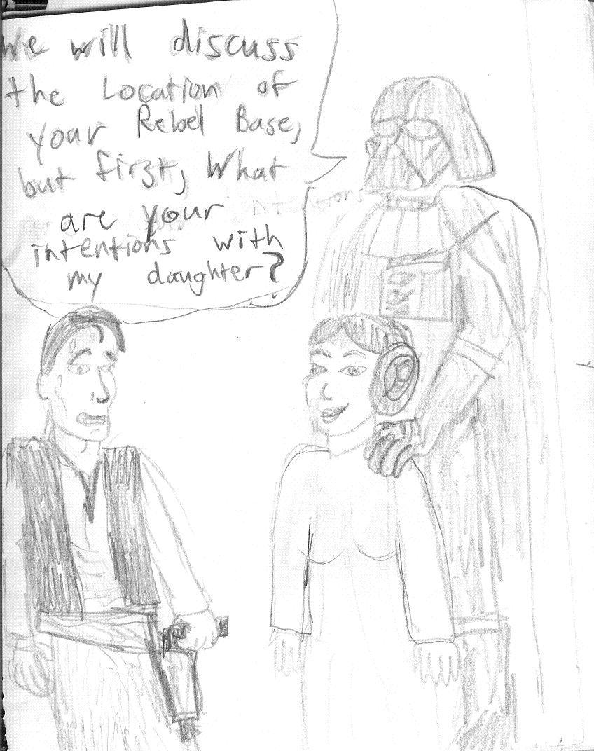 Han Solo's Father-in-law by rangerkom