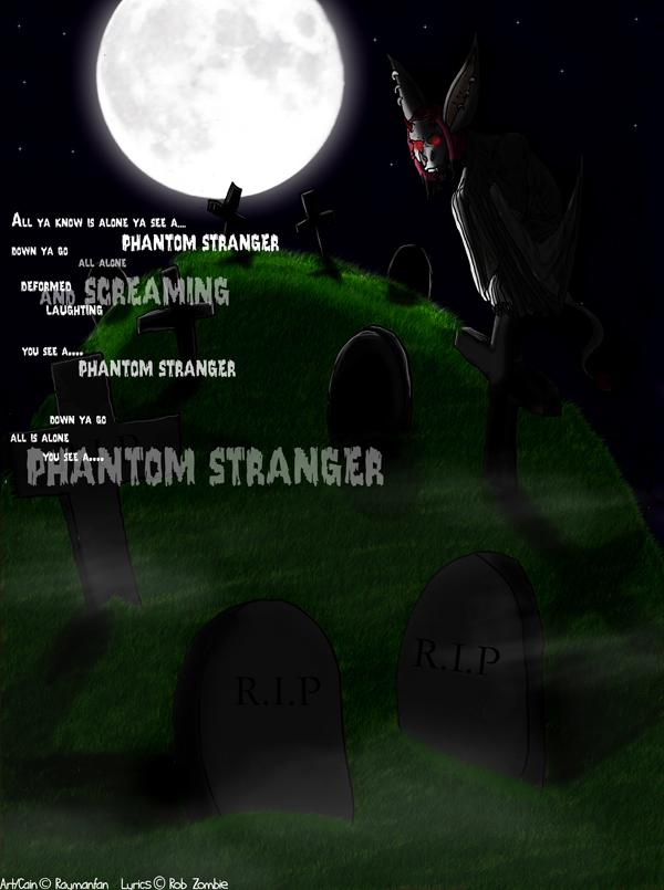 Phantom Stranger by reddragon