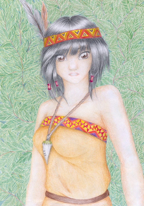 Indian girl by refia