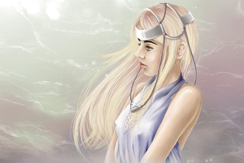 Wind Priestess by refia