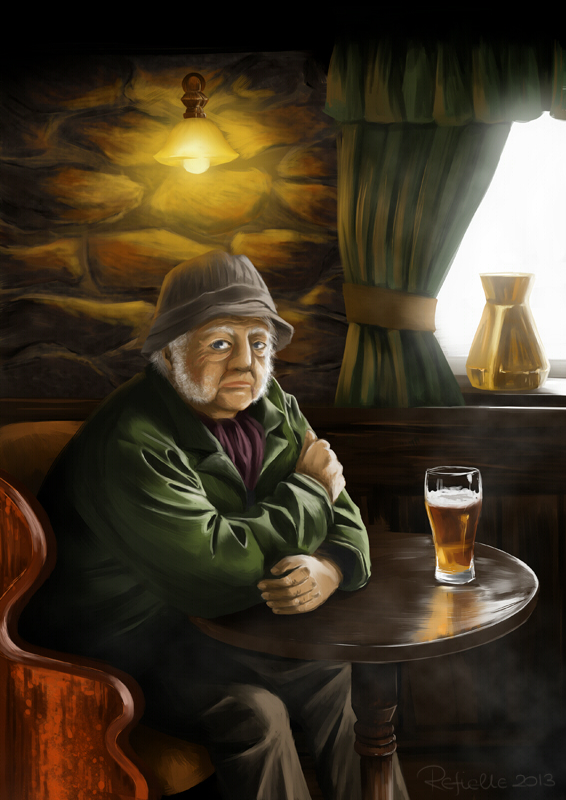 Traditional Irish Pub by refia