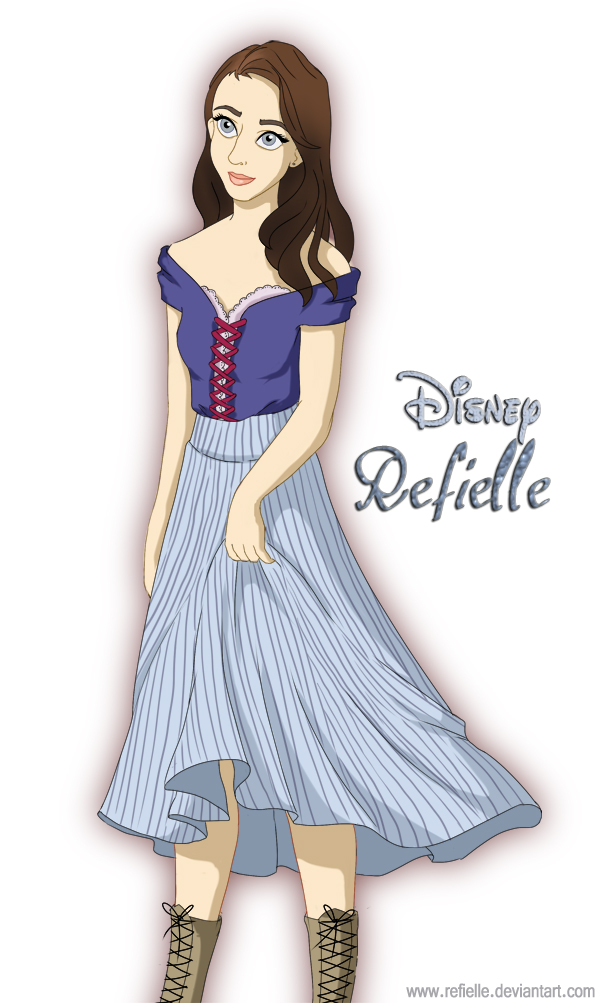 Disney Princess - Refielle by refia