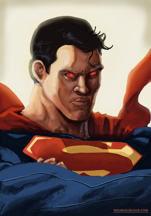 Man of Steel by reginaldgale