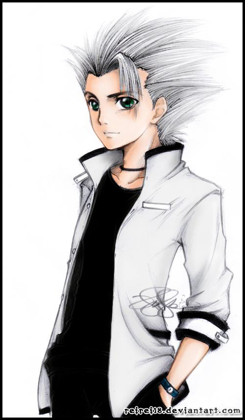 Hitsugaya Toushiro colored by reirei18