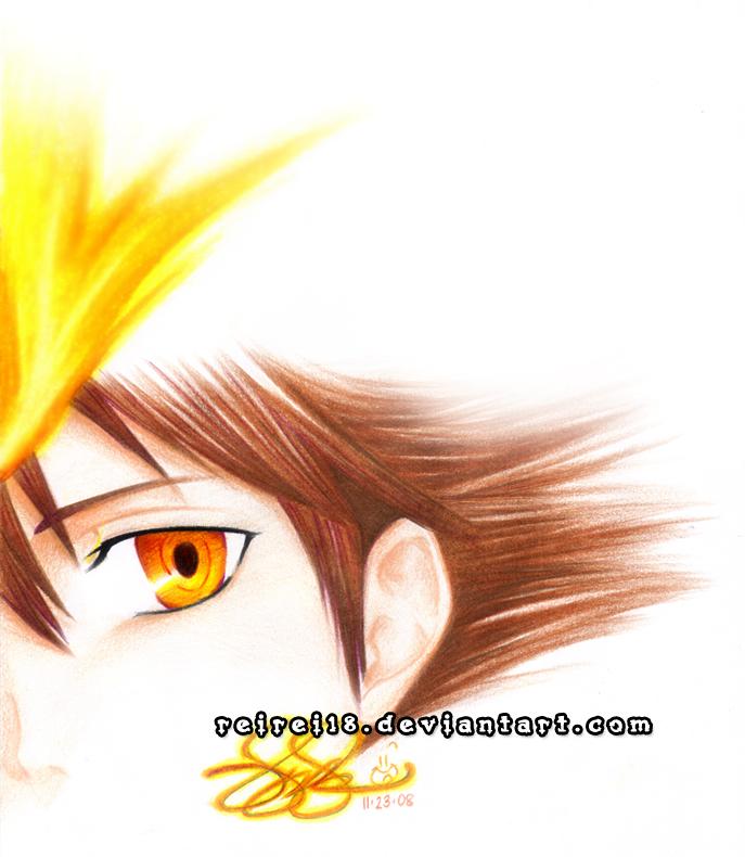 KHR: Sawada Tsunayoshi by reirei18