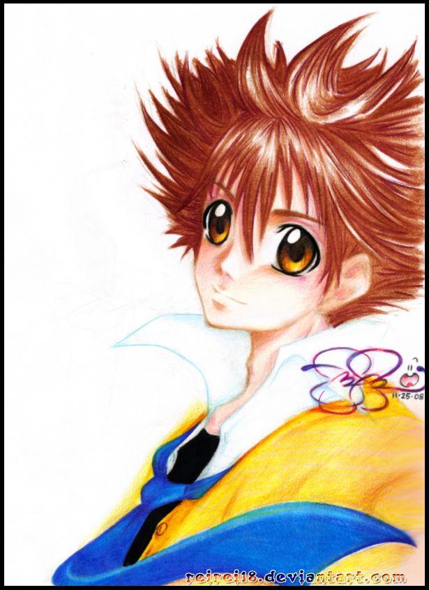 KHR: Tsuna Sawada by reirei18