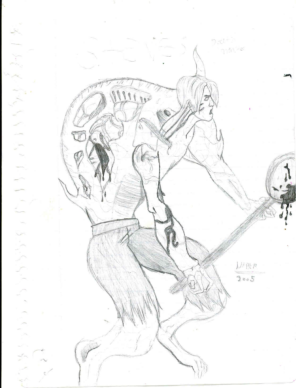 Steve Meet's His Doom(Tyrant) by resident_evil_fan_