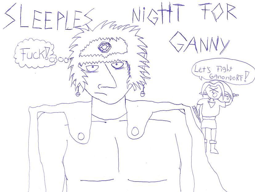 sleeples night for ganny by ricardolol