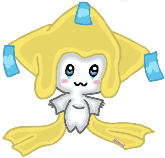 Jirachi the Adorable by rickarazz