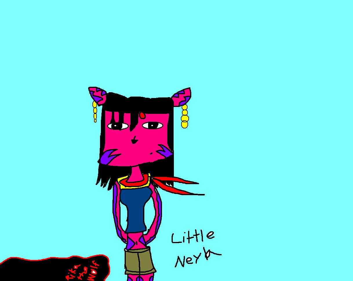 chibi neyla by rikathewolf