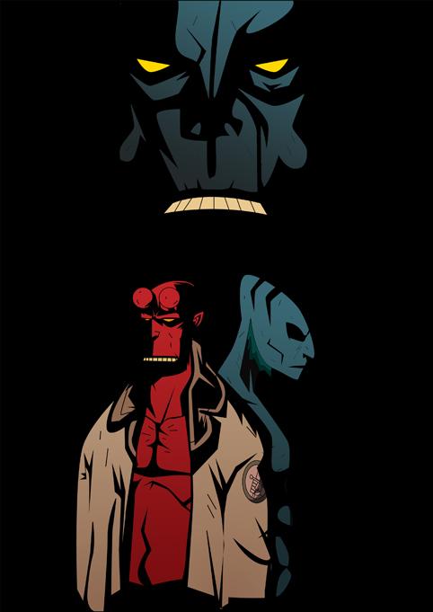 Hellboy by rizaturker