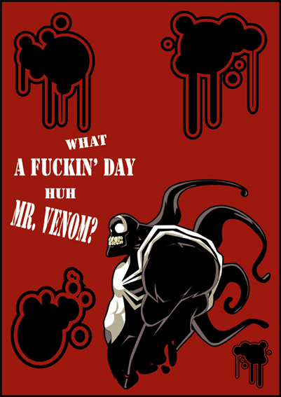 Mr. Venom by rizaturker