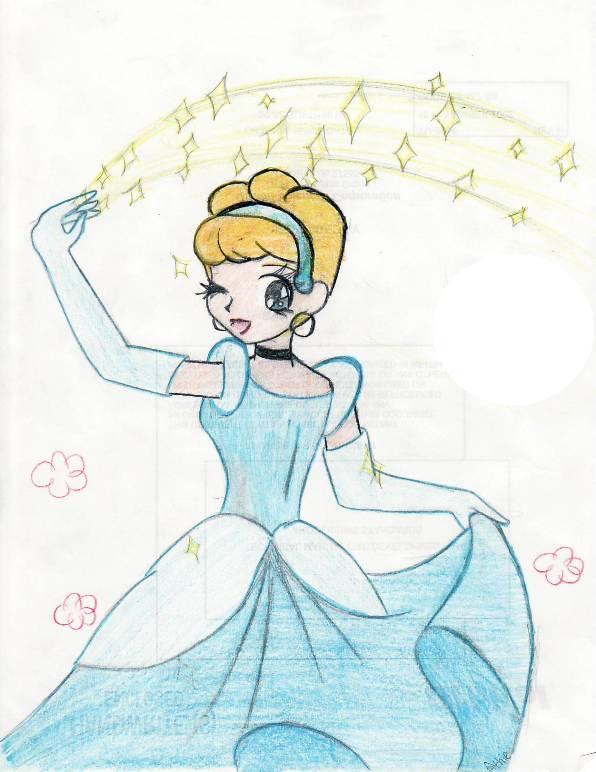 Cinderella by rlkitten