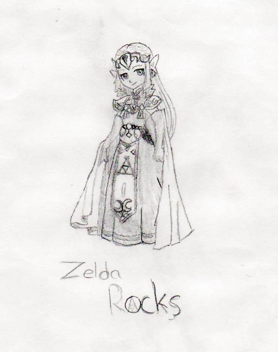 Zelda Rocks by rlkitten