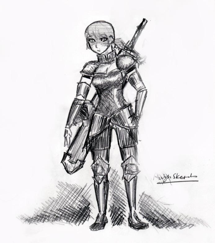 Alyce Concept Sketch by rlkitten