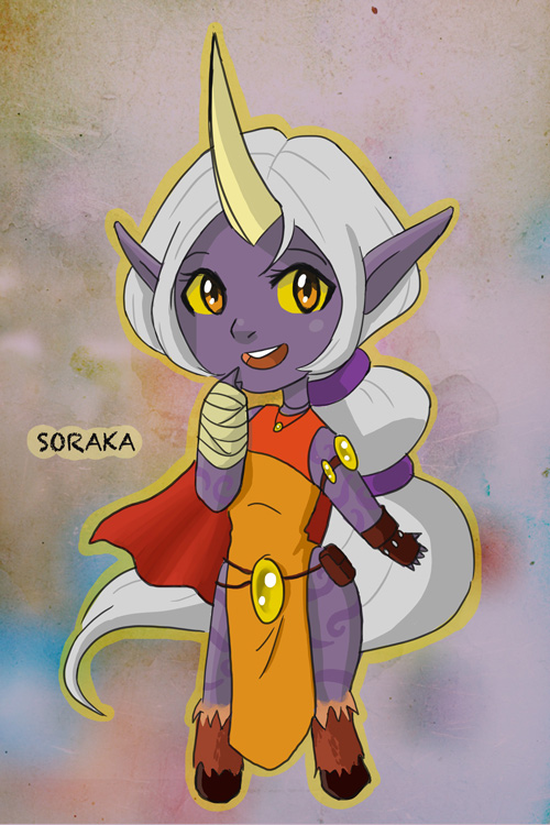 Soraka-chan! by rlkitten