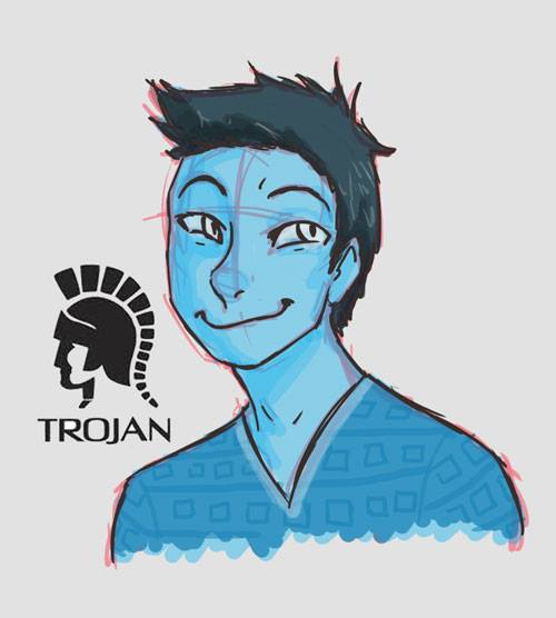 Mr. Trojan by rlkitten