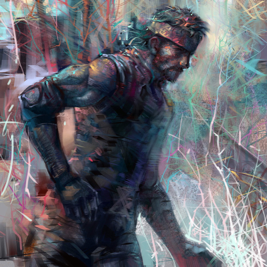Solid Snake by rmichaud