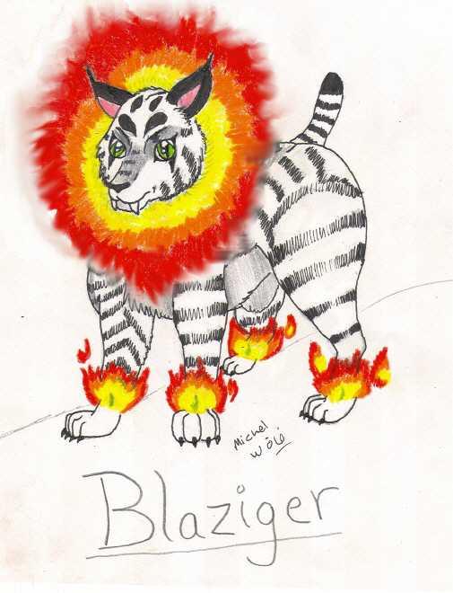 MYOP Contest Entry2--Blaziger by rolla_roach