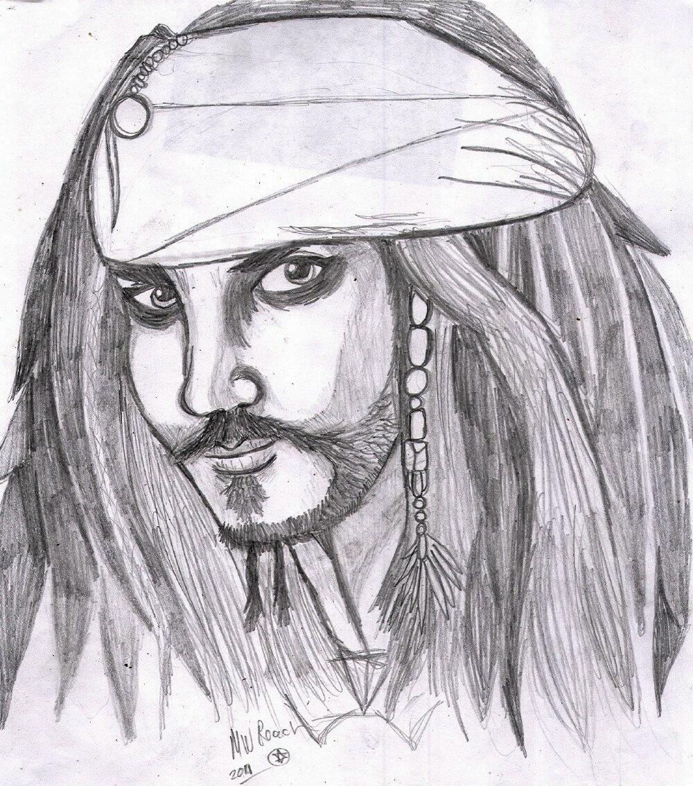 Captain Jack Sparrow by rolla_roach