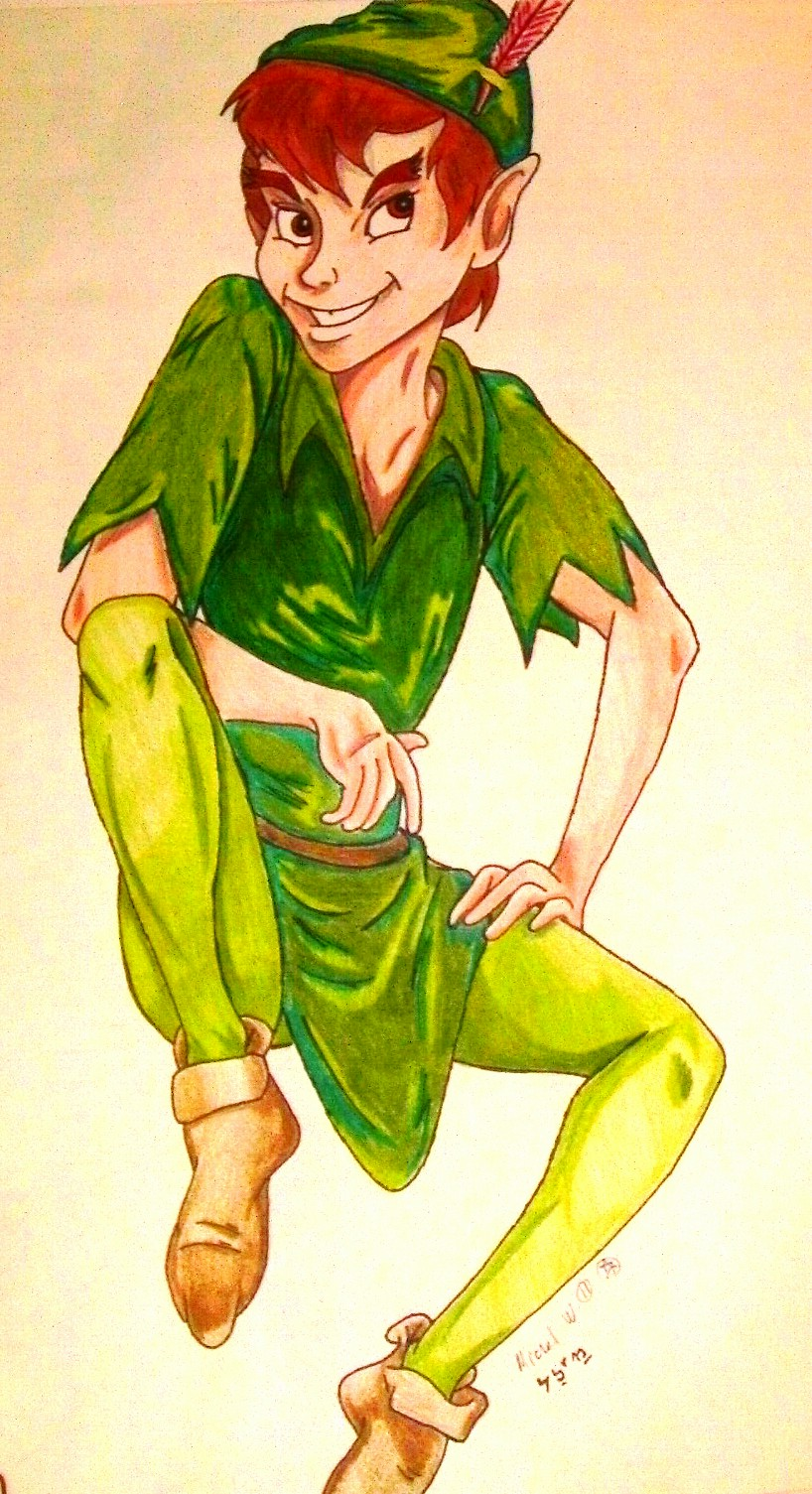 Peter Pan by rolla_roach