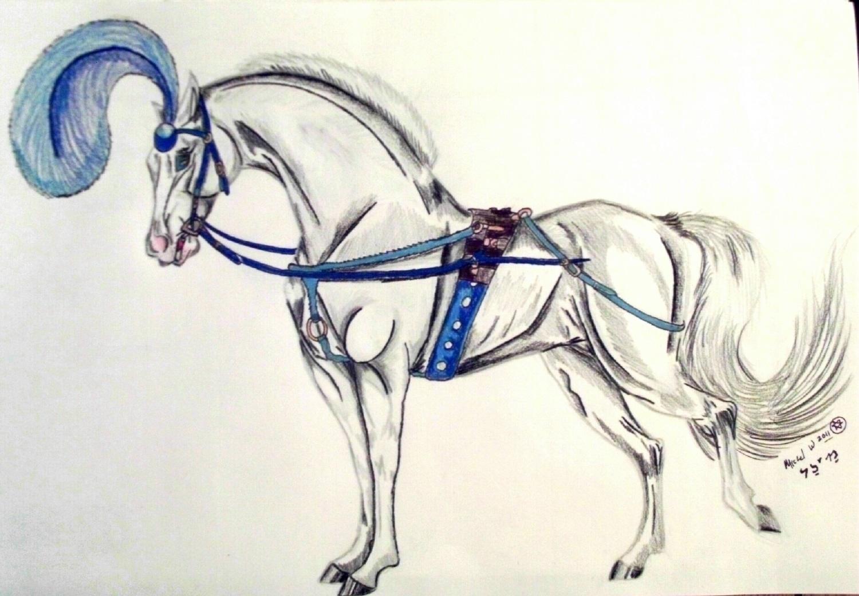 Cinderella Horse by rolla_roach