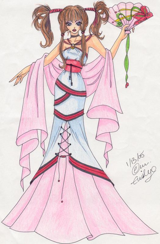 Kimono Design by roxy_foxychick
