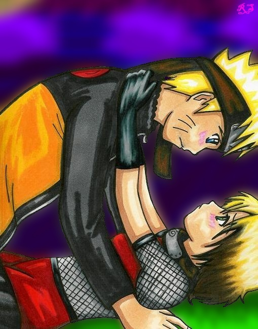 Naruto Couple by royally_spooky