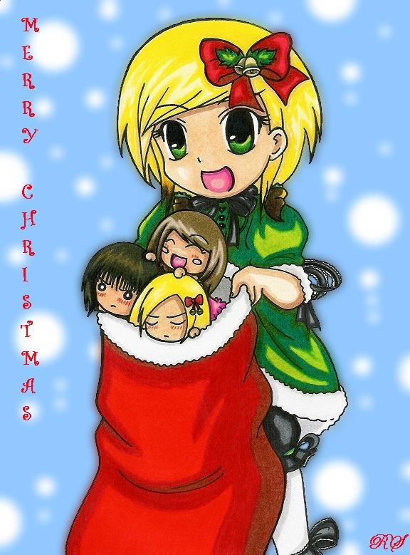 Merry Christmas (2007) by royally_spooky