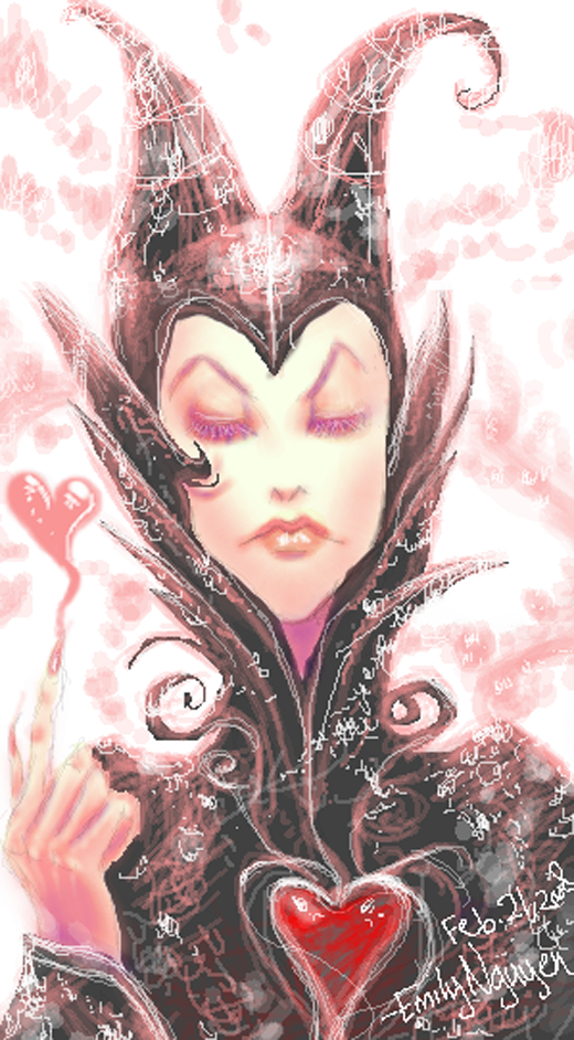Maleficent hearts you by rtemilynguyen