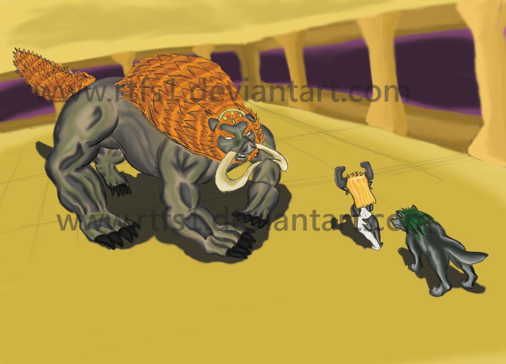 Beast vs Beast by rtfs1