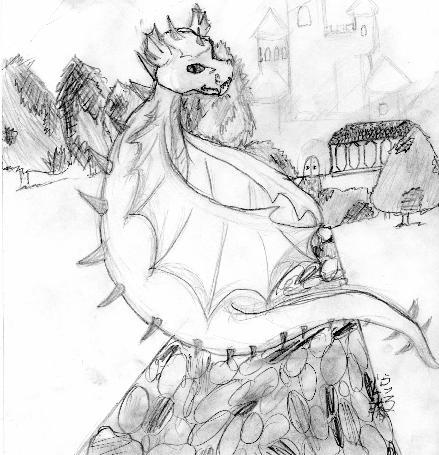 Draco's  Dragon by ryuuryuu