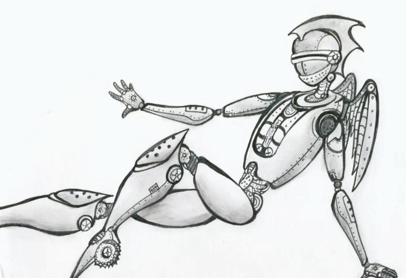 A Robot? by ryuuryuu