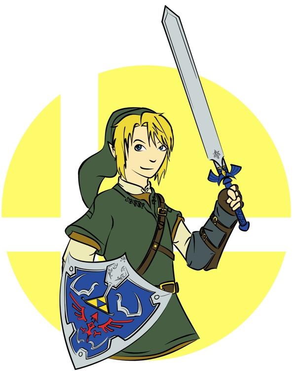 Brawl Honor: Link by ryuuryuu