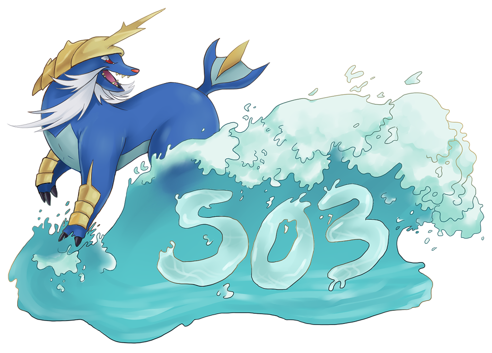 The 503 Tidal Wave: Done by ryuuryuu