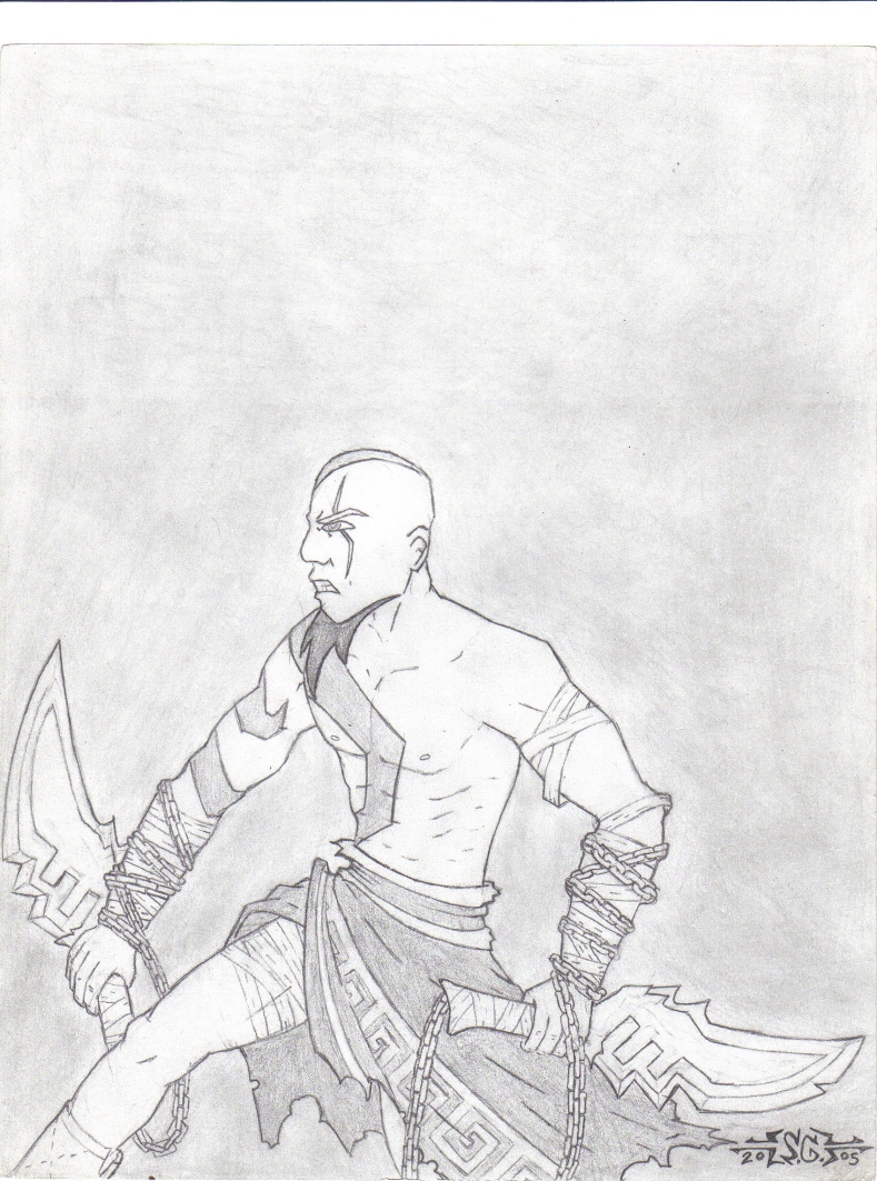 God of War by SILK