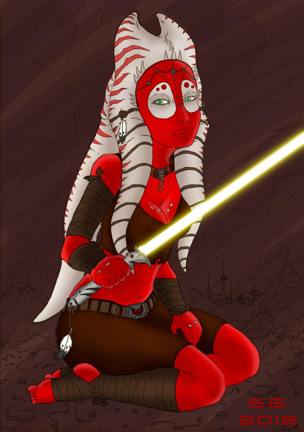 Togruta Jedi by SILK