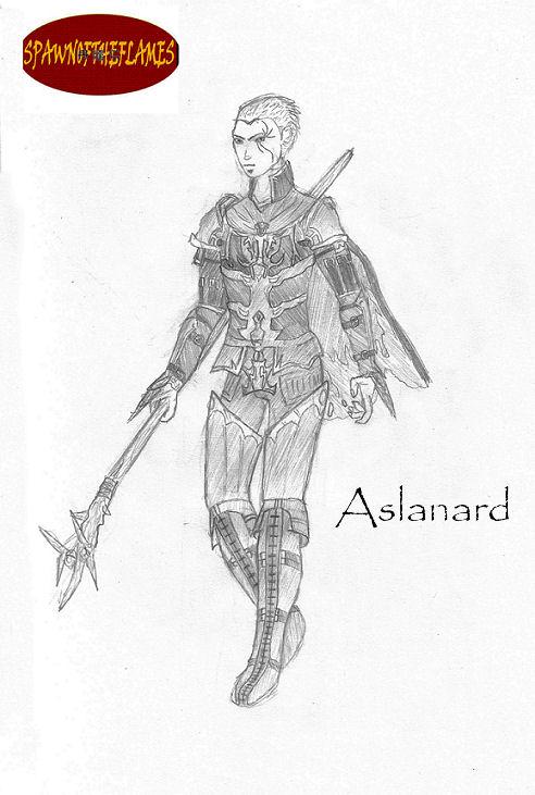 Aslanard by SPAWNOFTHEFLAMES